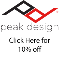 10 Percent off Peak Design Gear