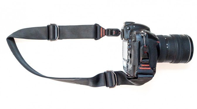 Peak Design Slide camera strap on a Nikon D4.